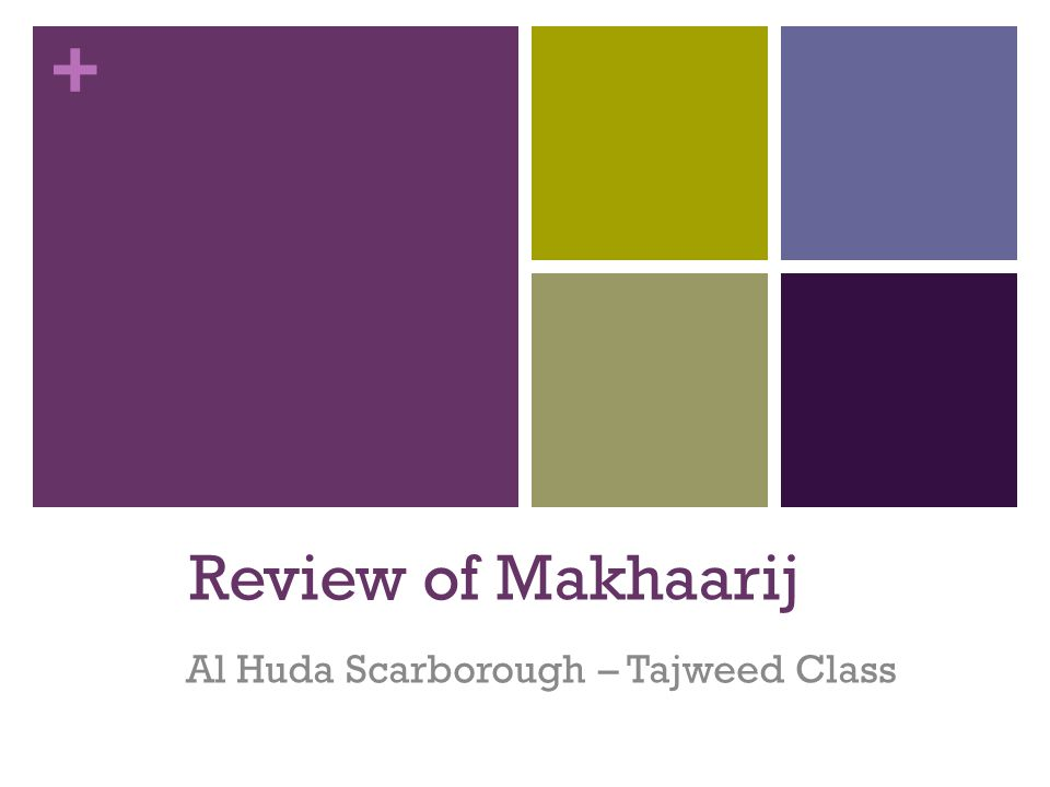 + Let's Look at the Makhraj and Characteristics of the Qalqala Letters