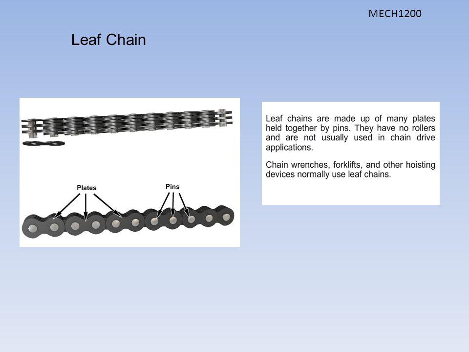 Leaf Chain MECH1200