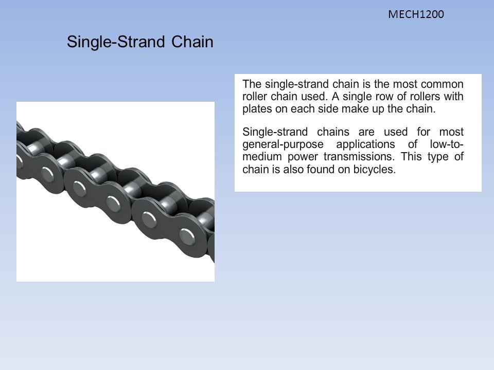 Single-Strand Chain MECH1200
