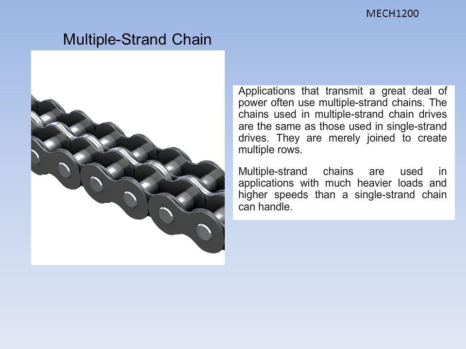 Multiple-Strand Chain MECH1200