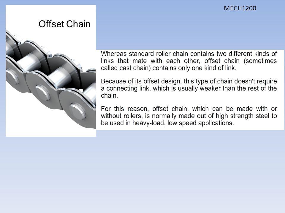 Offset Chain MECH1200