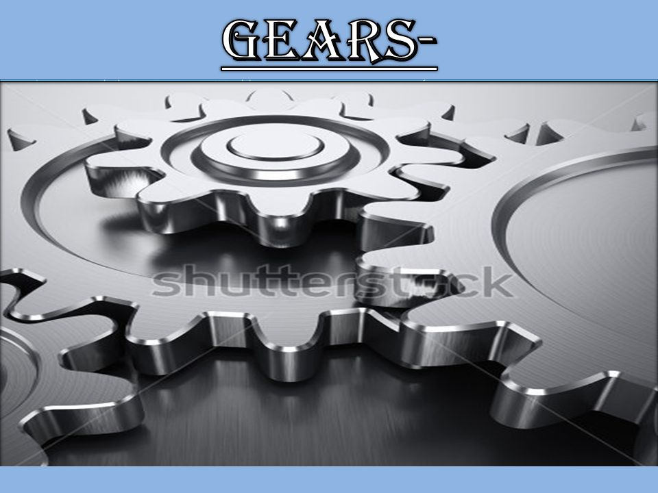 Gears whose centers can move.Used to achieve large speed reductions in compact space.