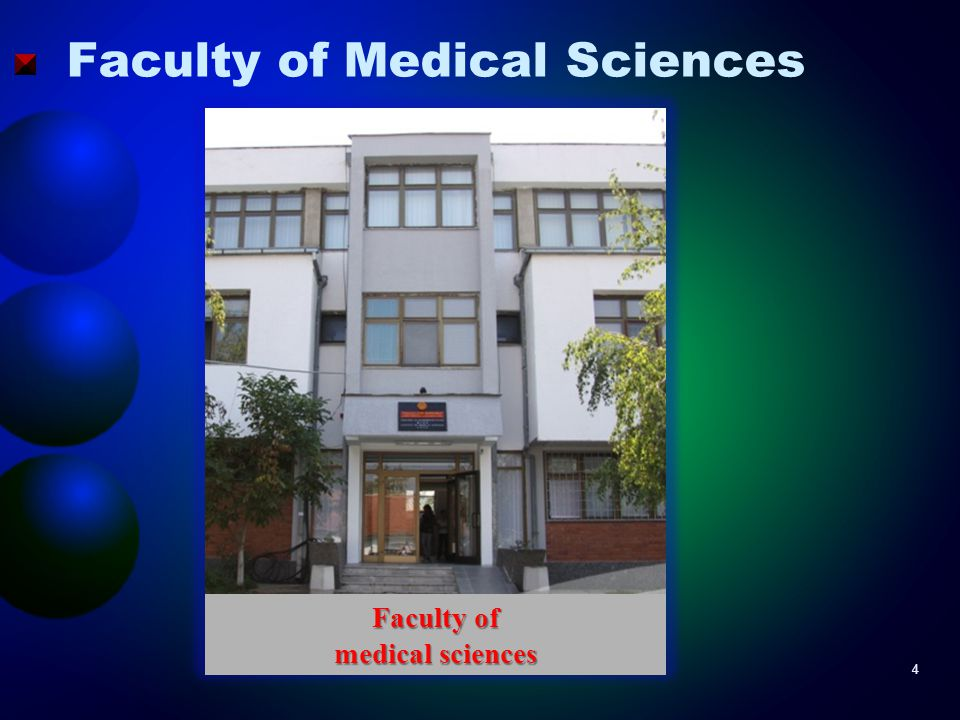 Faculty of Medical Sciences Faculty of medical sciences 4