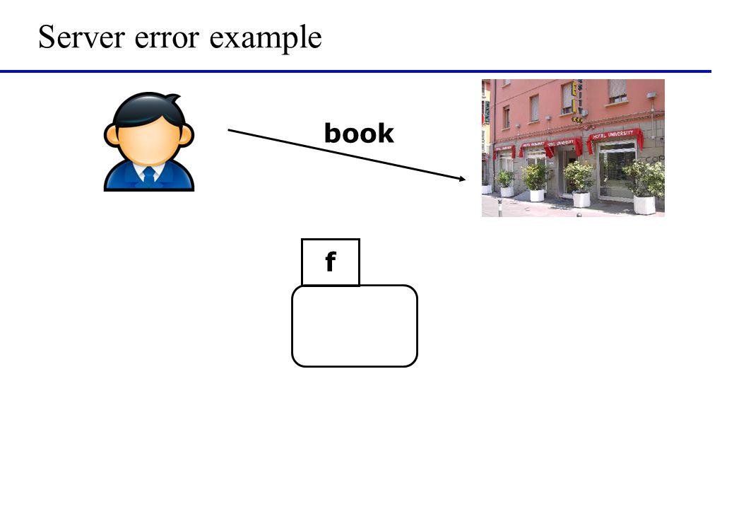 Server error example book f