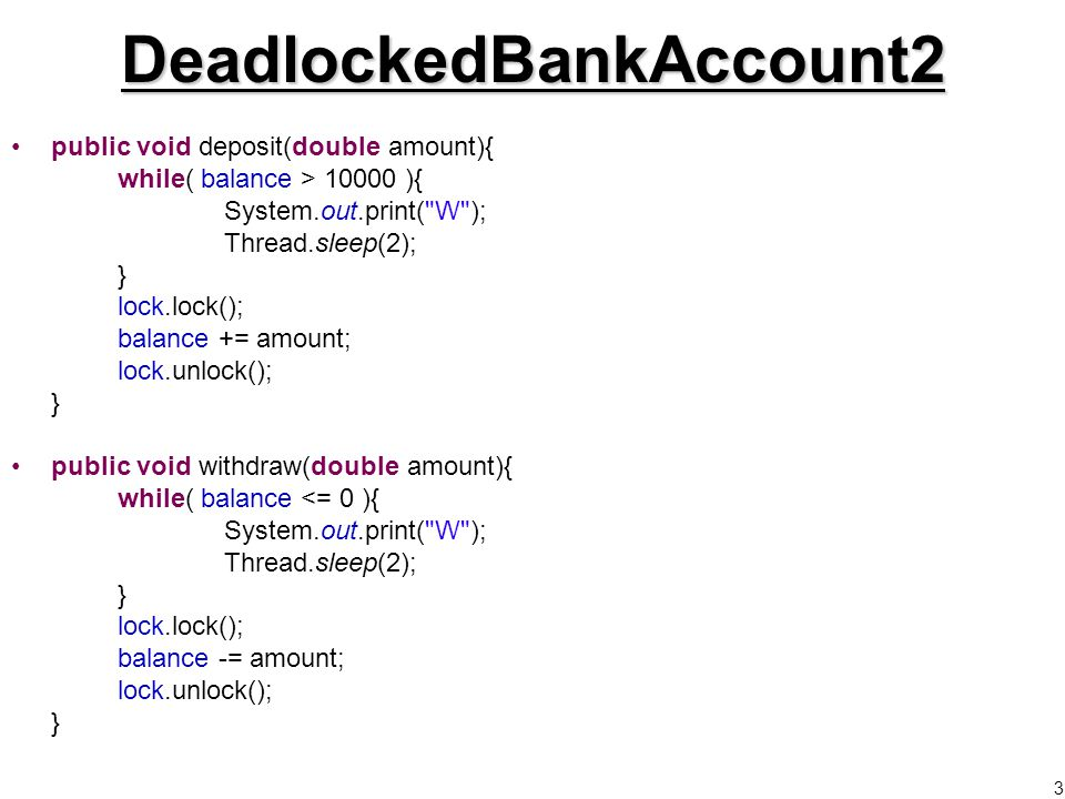 14 Reader-Writer Locks Special types of lock Lock –Shared data must be locked when it is being changed/written.