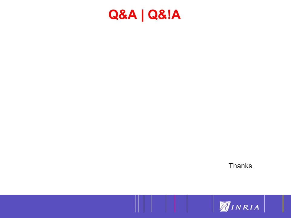Q&A | Q&!A 20 Thanks.