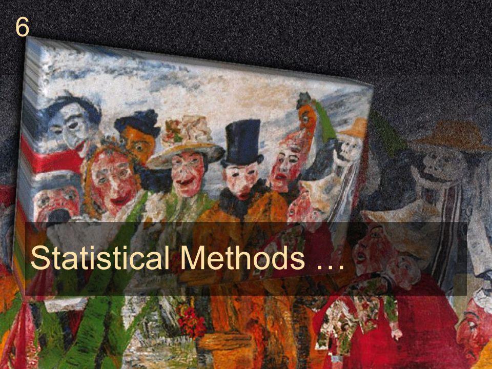 Statistical Methods … 6