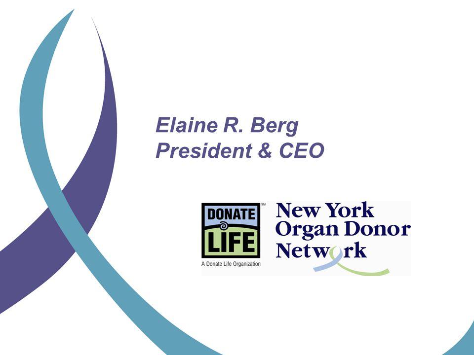 Elaine R. Berg President & CEO