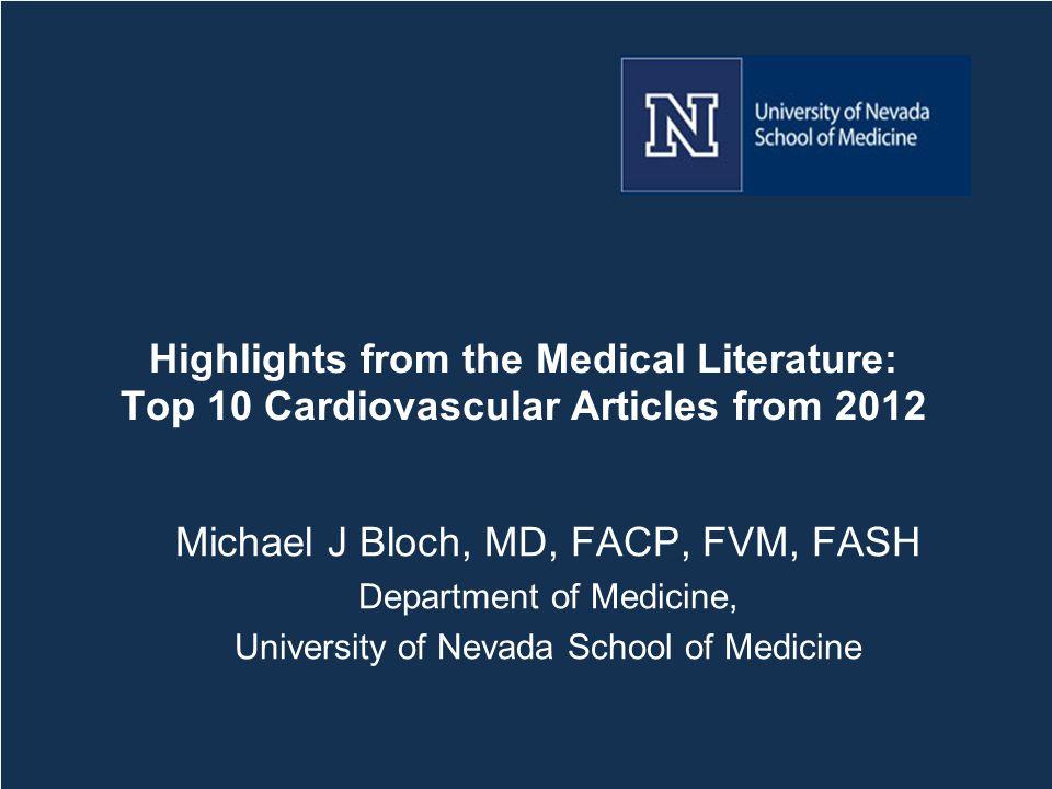 Faculty Disclosures Michael J.Bloch, M.D.