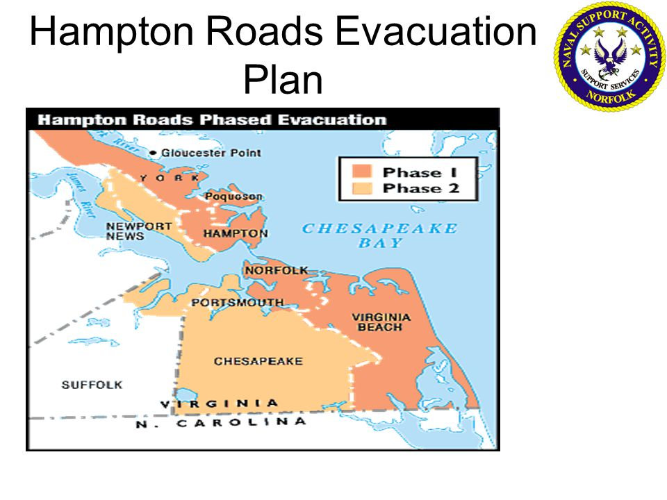 Hampton Roads Evacuation Plan