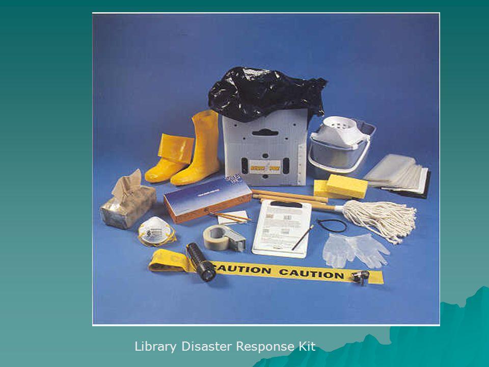 Library Disaster Response Kit