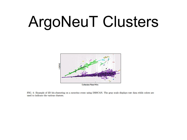 ArgoNeuT Clusters