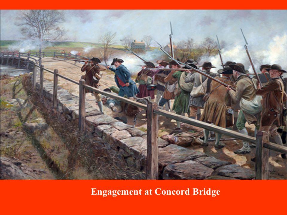 Engagement at Concord Bridge
