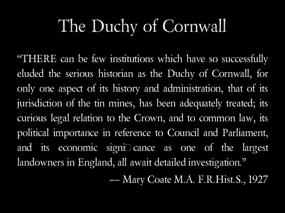 The Duchy