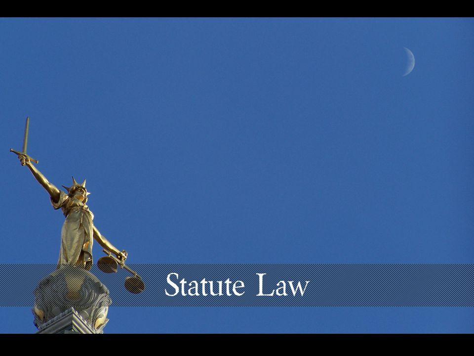 Statute Law