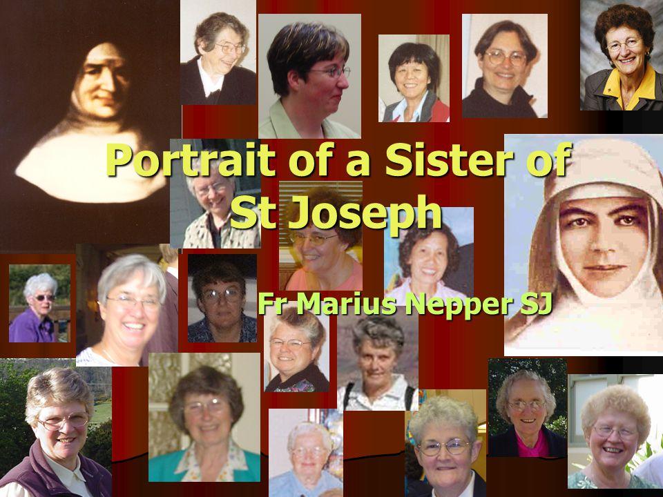 Portrait of a Sister of St Joseph Fr Marius Nepper SJ Fr Marius Nepper SJ