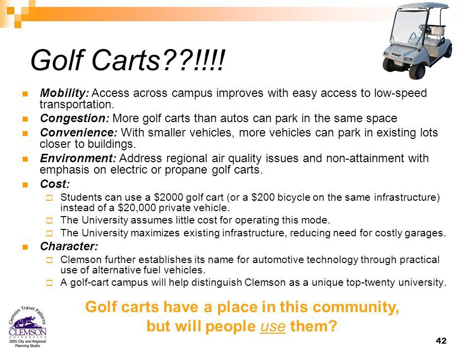 42 Golf Carts !!!.
