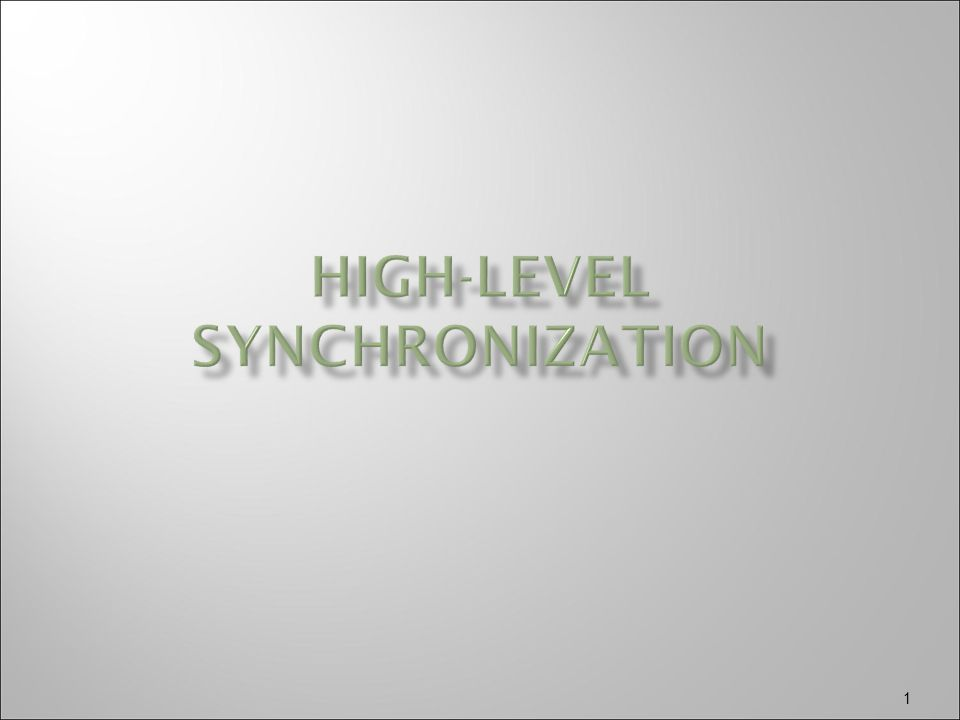  High-level synchronization construct that allows the safe sharing of an abstract data type among concurrent processes.