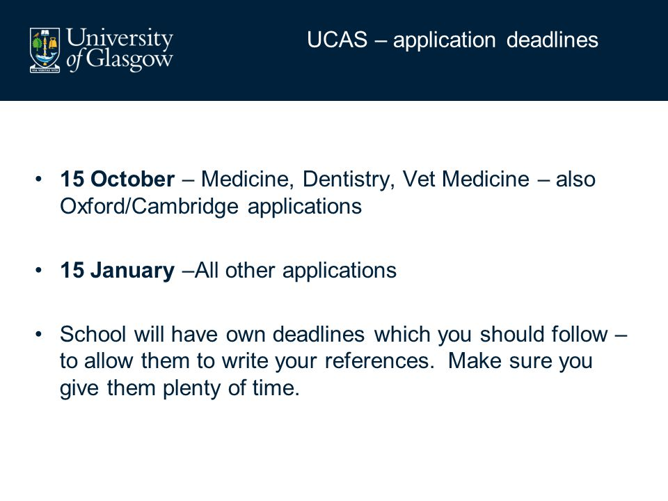 You will need to register with UCAS