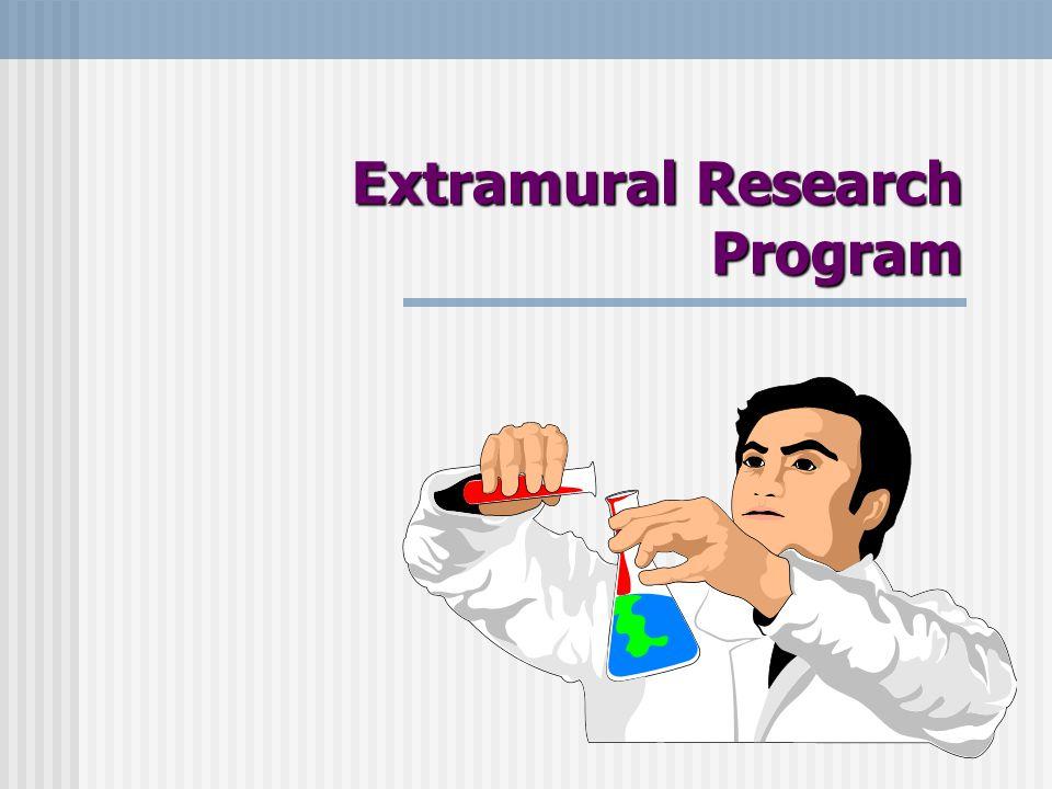 Extramural Research Program