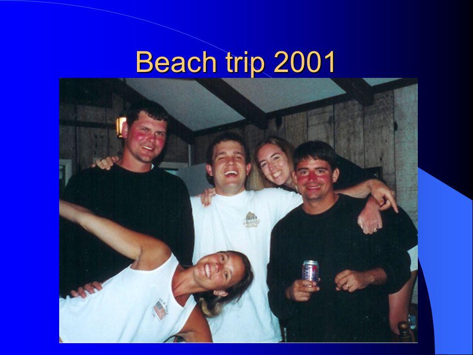 Beach trip 2001