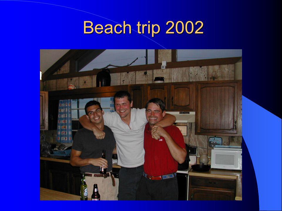 Beach trip 2002