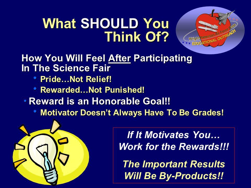 Motivation - Many Opportunities Await.
