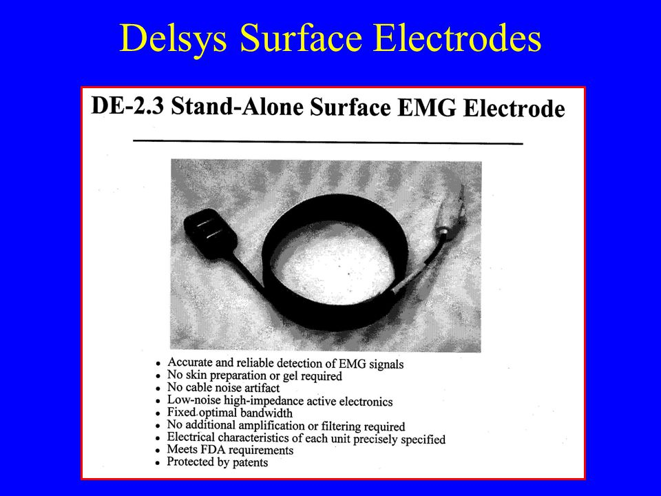 Delsys Surface Electrodes