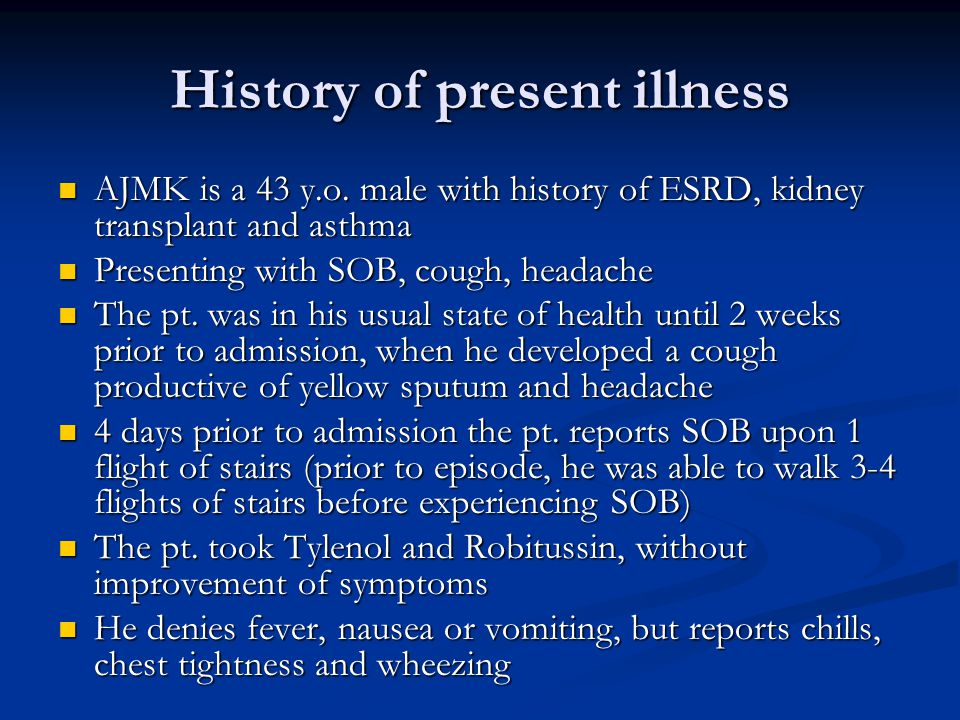 History of present illness AJMK is a 43 y.o.