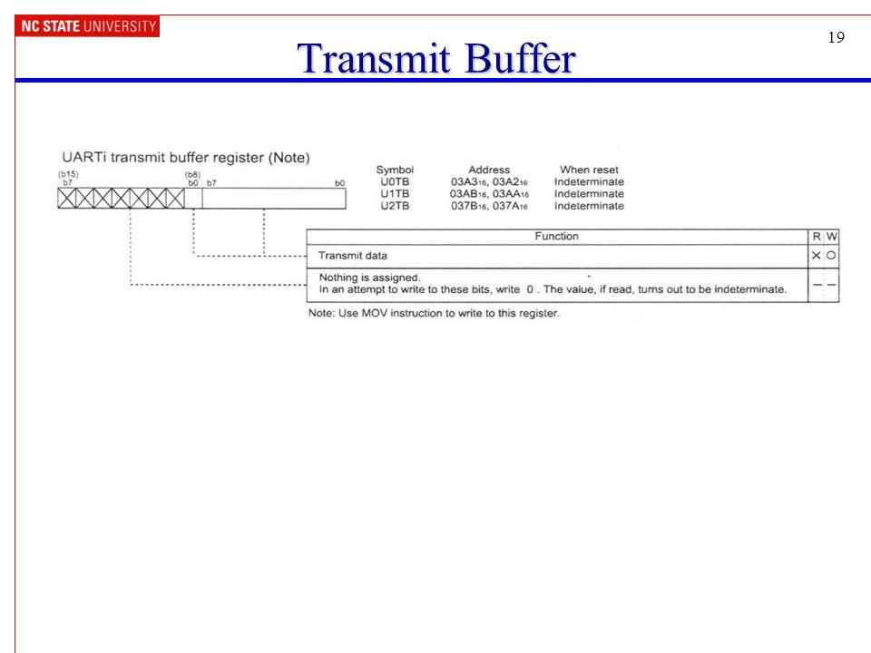 19 Transmit Buffer