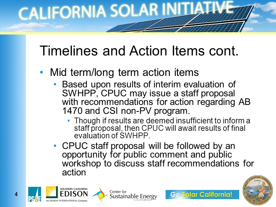 5 How will CPUC determine whether results of SWHPP are sufficient.
