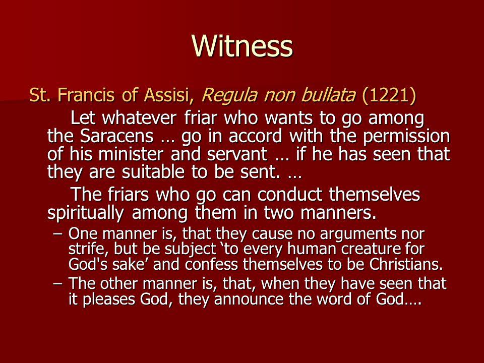 Witness St.