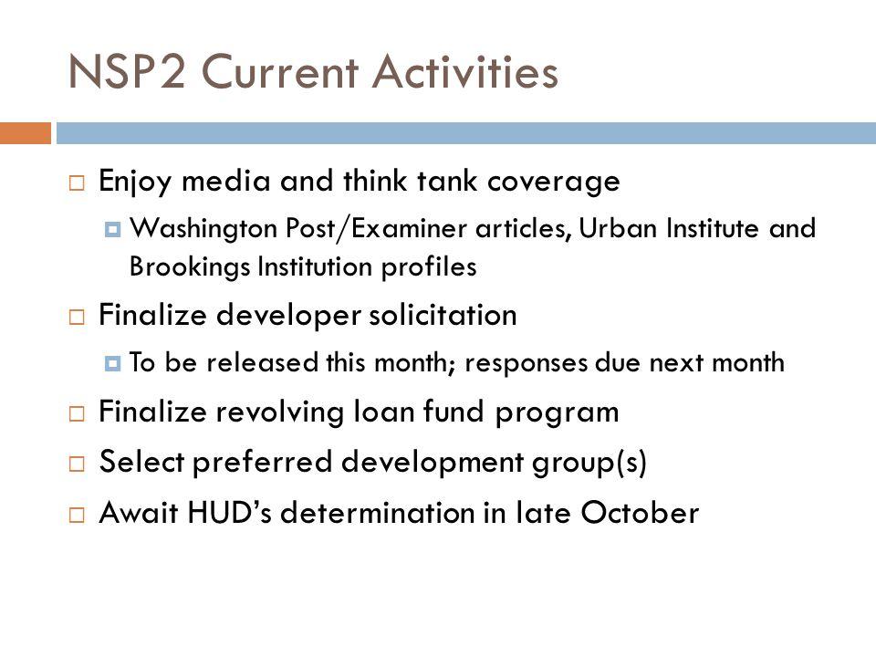 NSP2 Questions?.