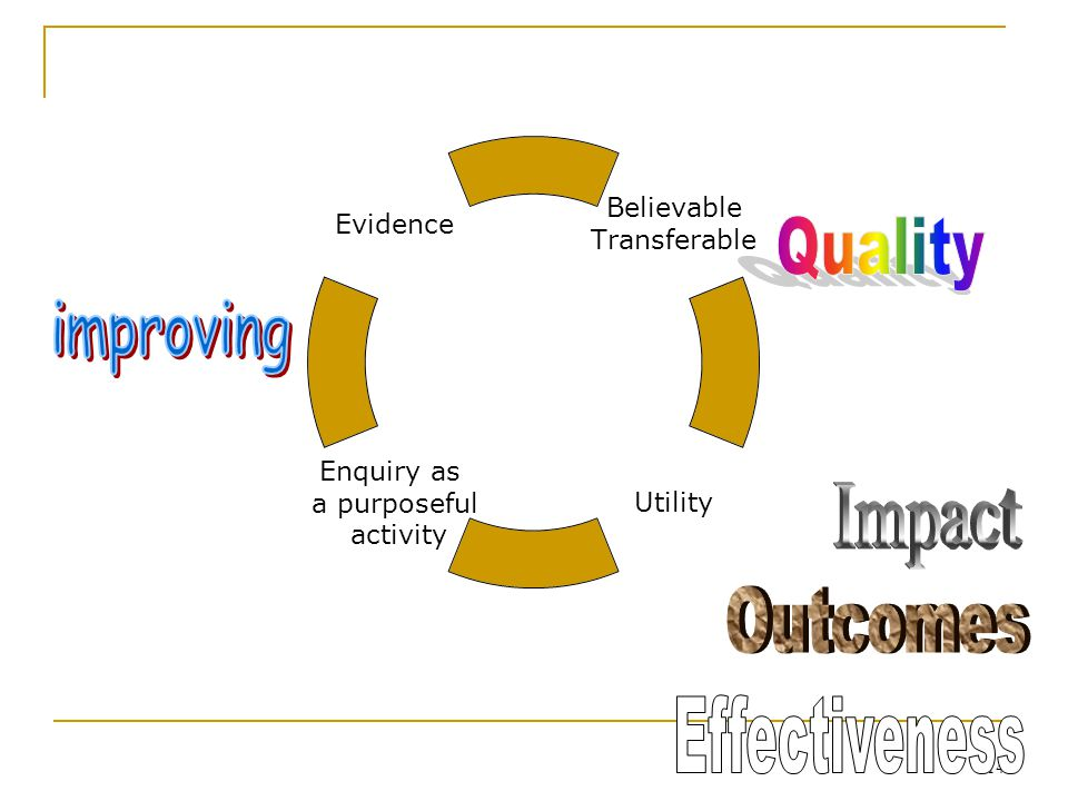 14 Believable Transferable Utility Enquiry as a purposeful activity Evidence