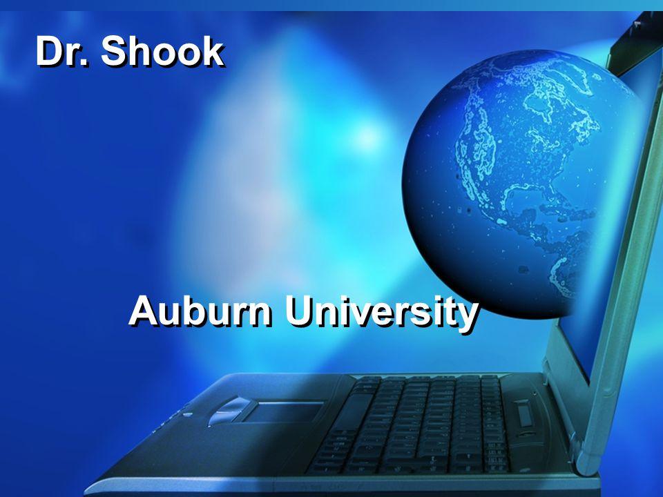 Dr. Shook Auburn University
