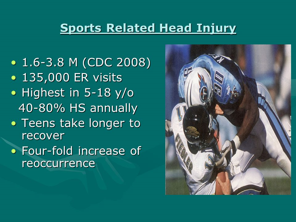 Universal Guidelines Remove every concussed athlete from playRemove every concussed athlete from play On-field and repeated sideline evaluationsOn-field and repeated sideline evaluations Transport any deteriorating athleteTransport any deteriorating athlete Treat every LOC as concomitant cervical injuryTreat every LOC as concomitant cervical injury