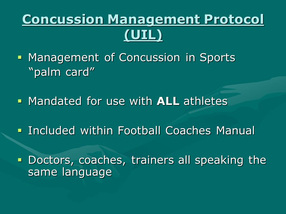 Concussion Workshop  Reviewed scientific literature of brain injury  Focused on evaluation and classification  Reviewed current assessment tools  Recommended return to play criteria