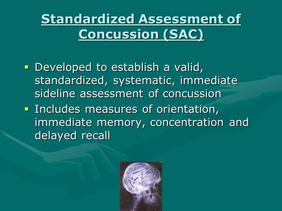 Minor Head Injury  Grade III: any loss of consciousness