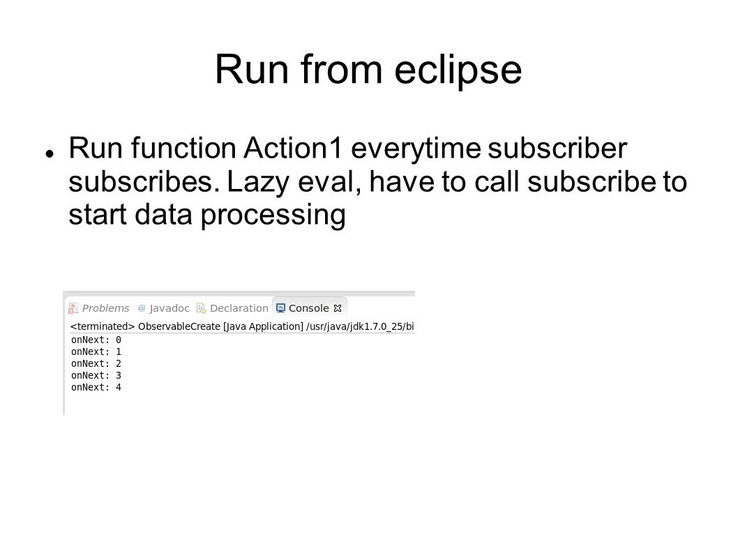 Run function Action1 everytime subscriber subscribes.
