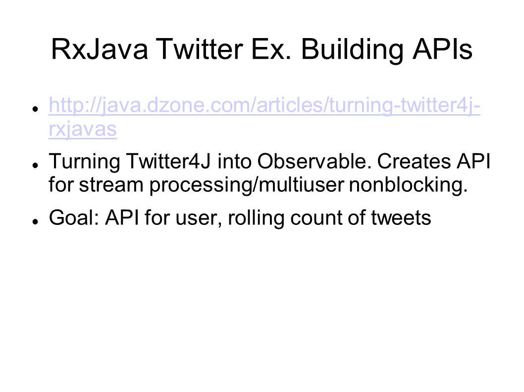 RxJava Twitter Ex.