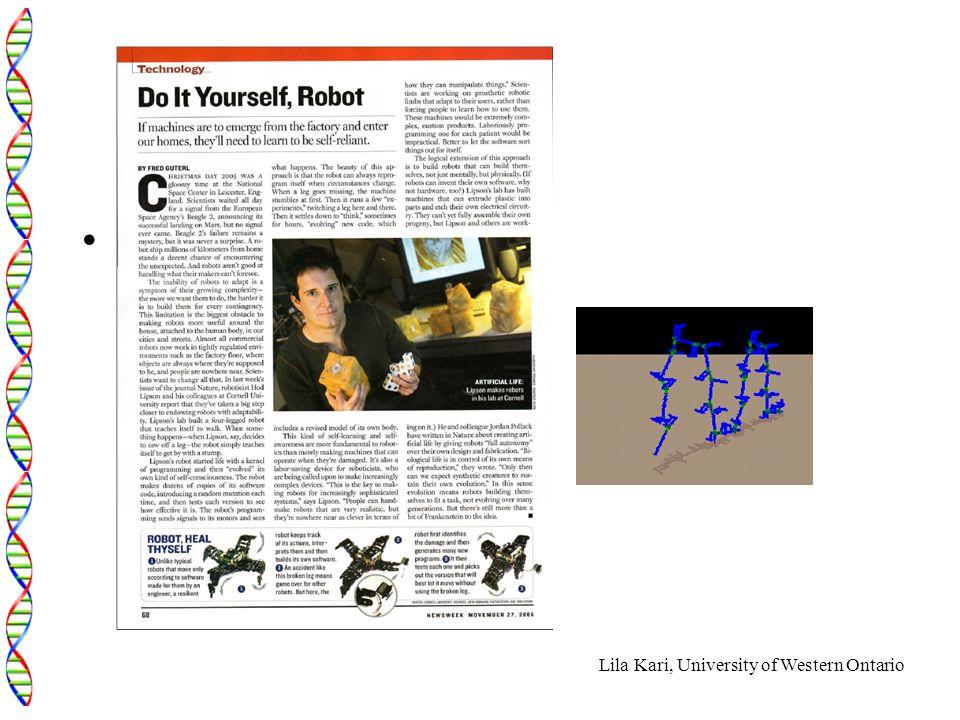 Lila Kari, University of Western Ontario How to insert pdf file
