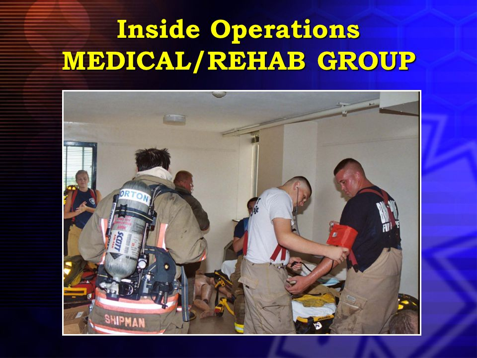 Inside Operations MEDICAL/REHAB GROUP