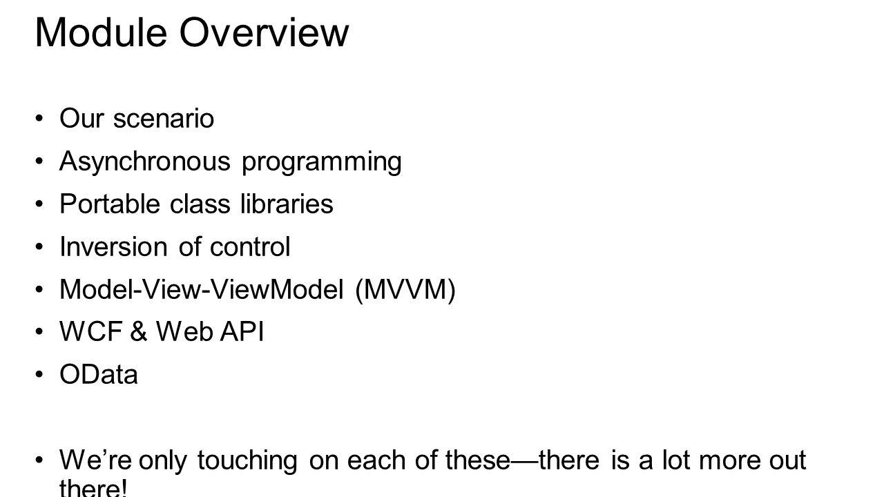 Model-View-ViewModel (MVVM)