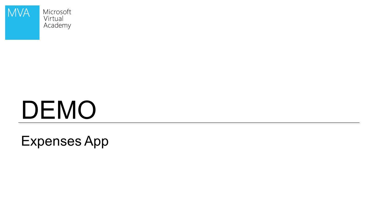 DEMO Expenses App