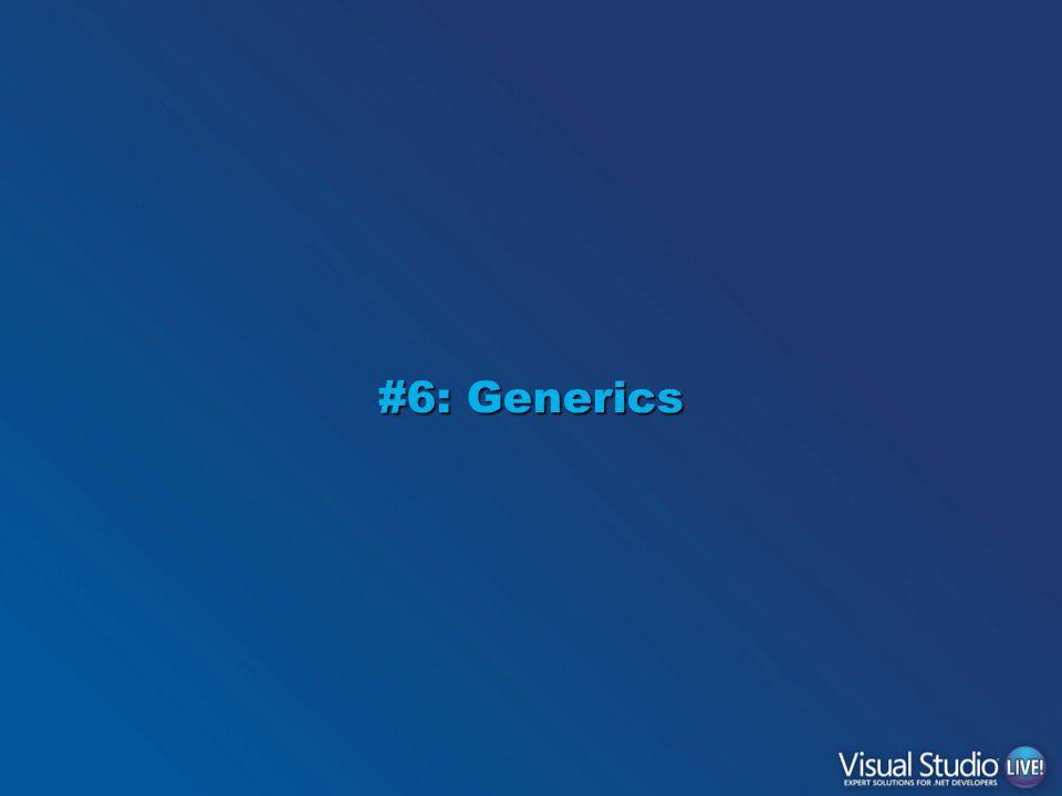 #6: Generics