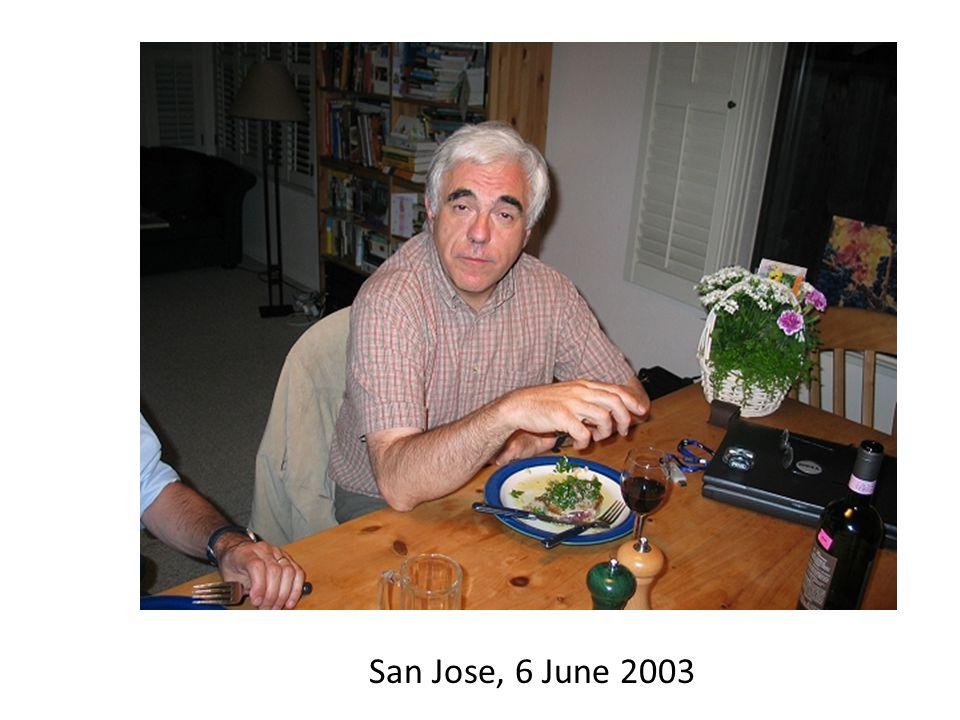San Jose, 6 June 2003