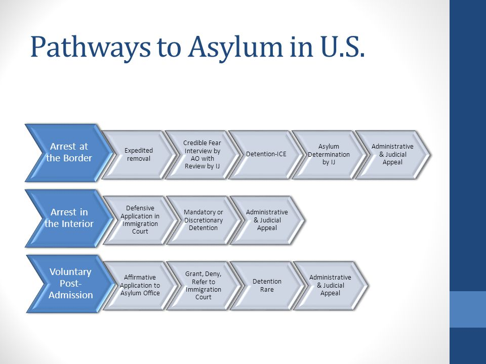 Pathways to Asylum in U.S.