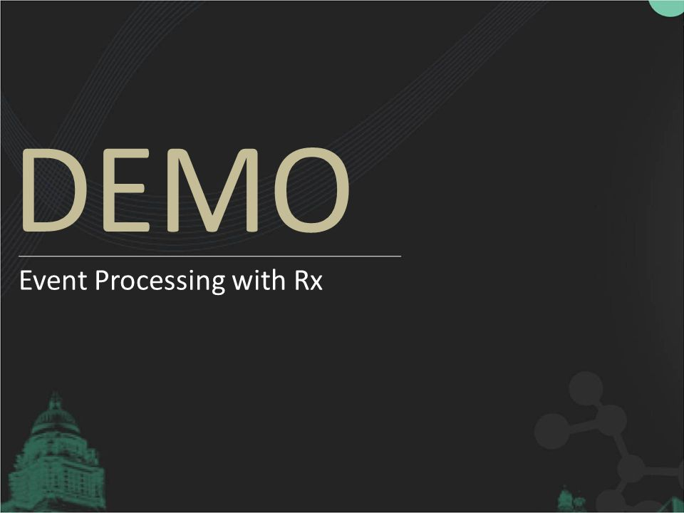 DEMO Event Processing with Rx