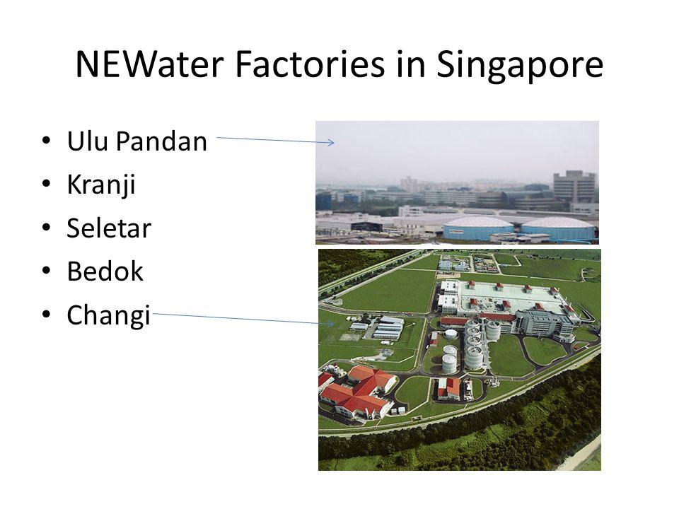 NEWater Factories in Singapore Ulu Pandan Kranji Seletar Bedok Changi