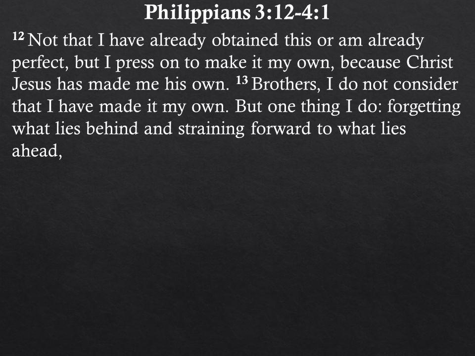 Philippians 3:12-4:1.